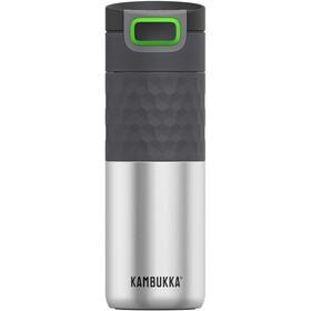 Kambukka Etna Grip Flaske 500 ml, grå/sølv